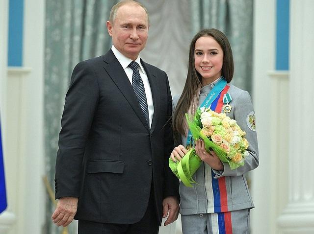 Алина Загитова Путин