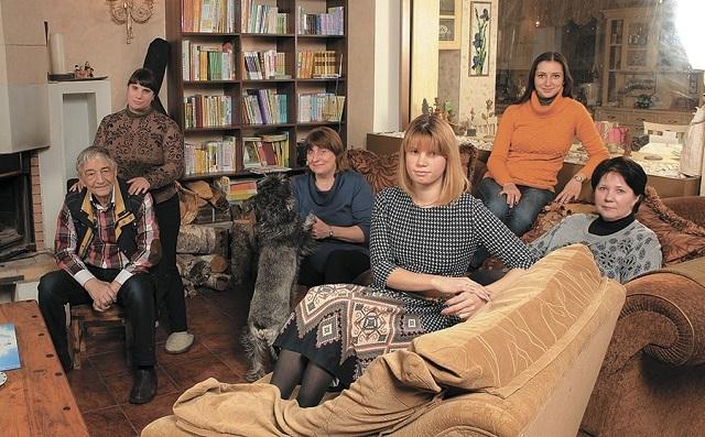 Эдуард Успенский семья жена дети фото