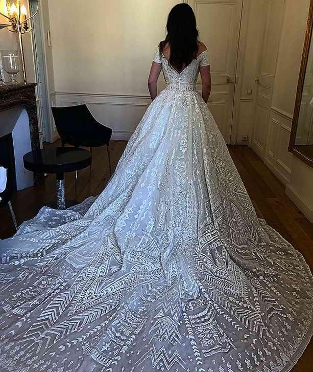 Свадьба Ирины Чигиринской платье за 14 миллионов рублей