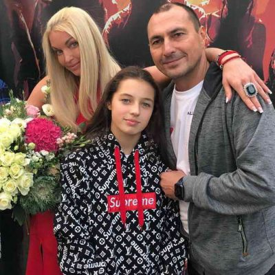 День рождения Арины - 13 лет Анастасия Волочкова и Игорь Вдовин