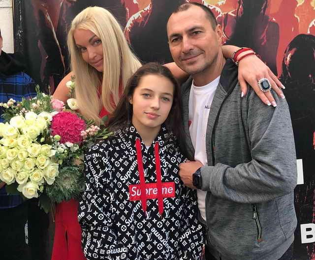 День рождения Ариадны - 13 лет Анастасия Волочкова и Игорь Вдовин