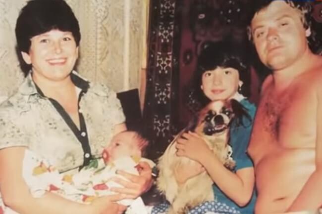 Жанны Фриске и семья
