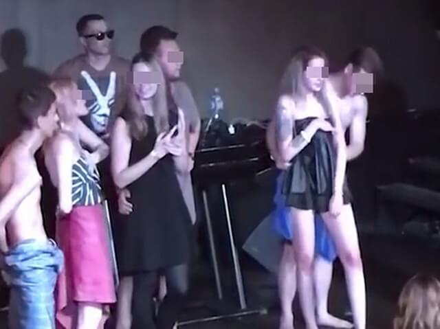 Посвящение в студенты в клубе Байконур