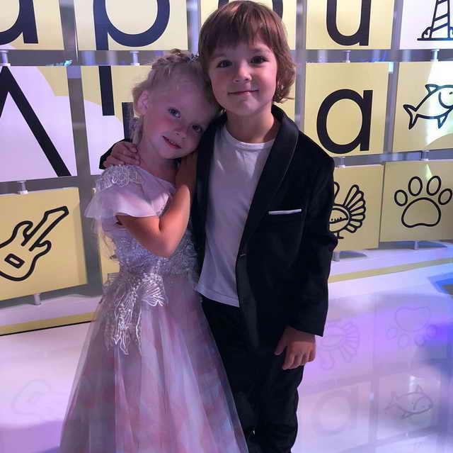 Лиза и Гарри Пугачевы Галкины 5 лет - день рождения