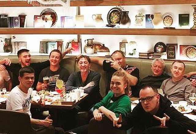 Григорий Лепс совершенно трезвый в ресторане Красноярска