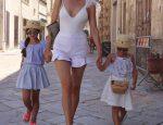 Итальянка Жаклин Берридо Писано с роскошной фигурой, 50 лет и она бабушка