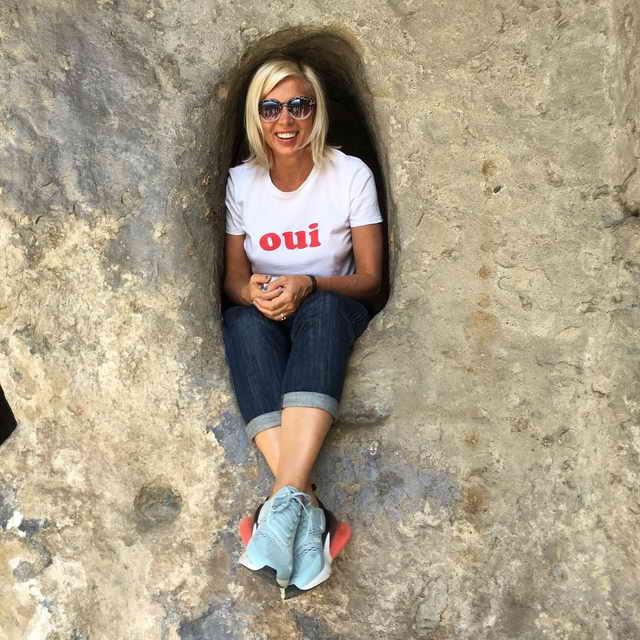 Алена Свиридова в грузинской норке