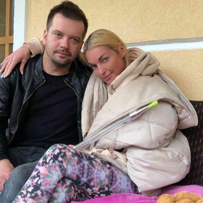 Анастасия Волочкова и Михаил Борисовский