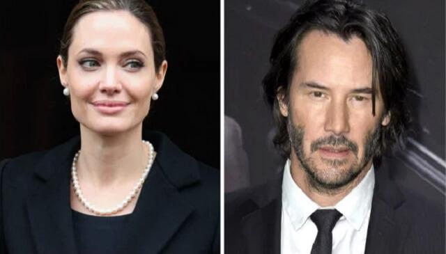 Анджелина Джоли встречается с Киану Ривзом