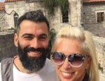 Алена Свиридова и Давид Варданян в Черногории