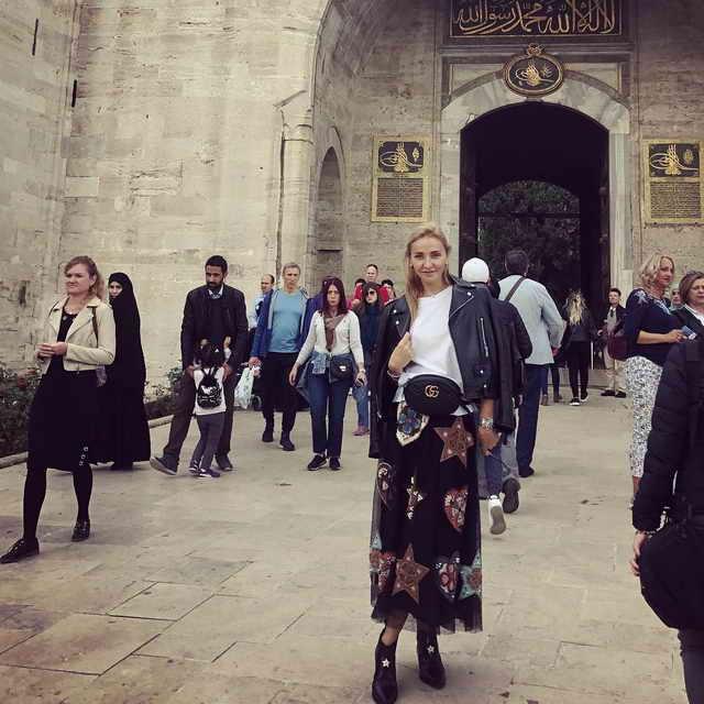 Татьяна Навка путешествовала по Стамбулу (Константинополю)