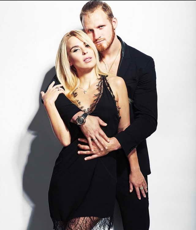 Певица Пелагея и ее муж Иван Телегин 26-летний хоккеист ЦСКА