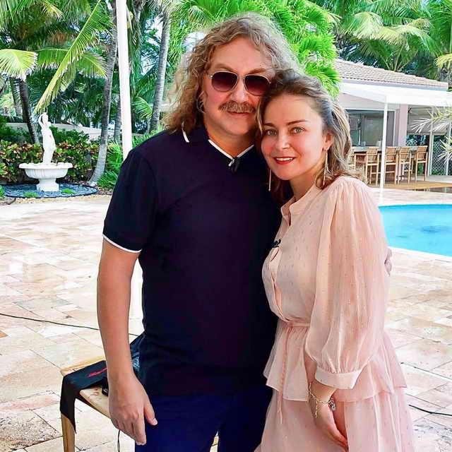 Вероника Николаева и Игорь Николаев в Майами