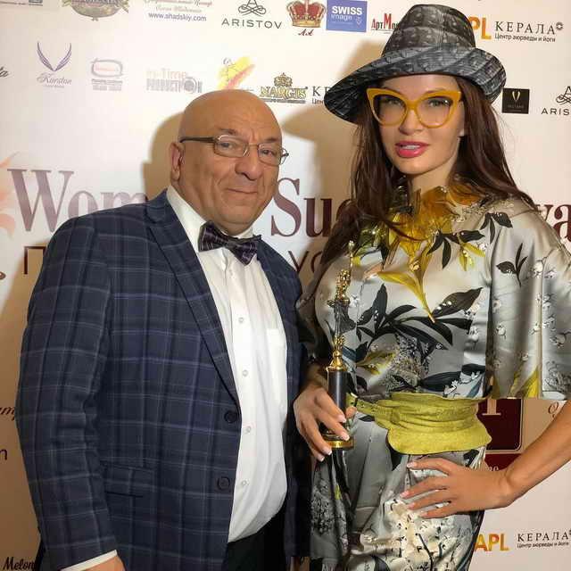 Эвелина Бледанс на WOMEN'S SUCCESS AWARDS 2018 Россия