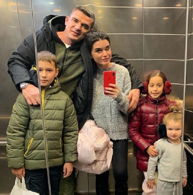 Дети Ксении Бородиной и Курбана Омарова