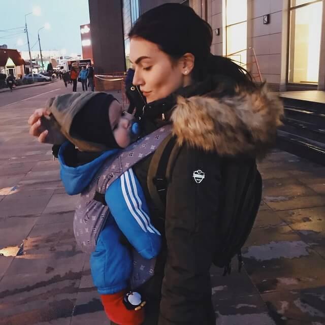 Фрейя Зильбер мать 6-месячного Марка - внука Марии Шукшиной