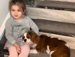 Ксения Бородина дочь Теона собака Бертик