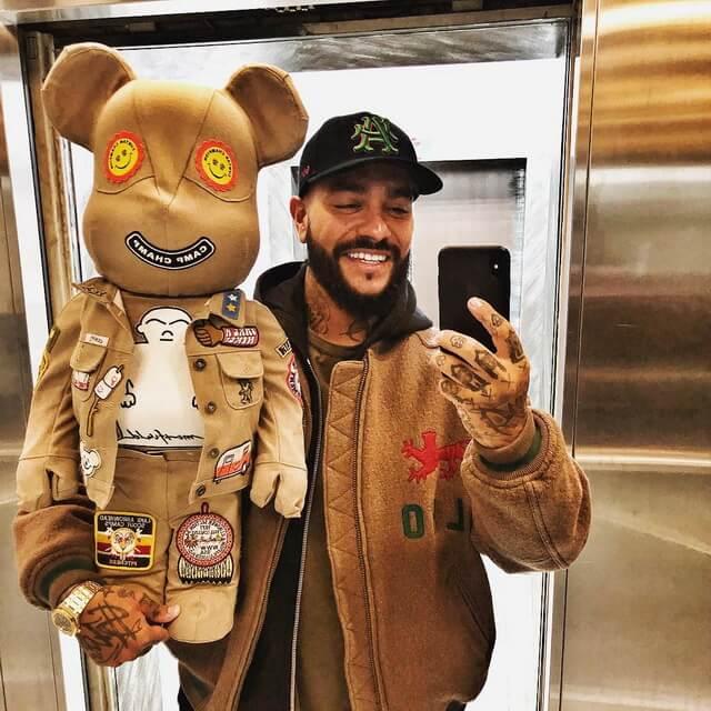 Рэпер Тимати с очередным медведем