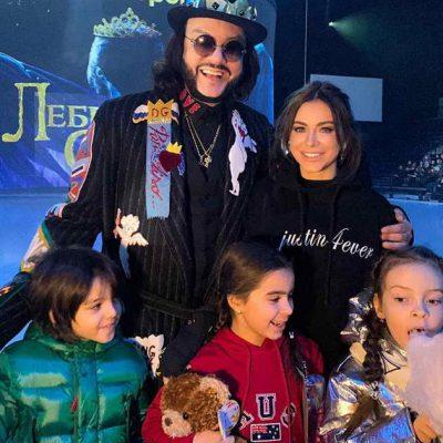 Ани Лорак, Филипп Киркоров со своими детьми