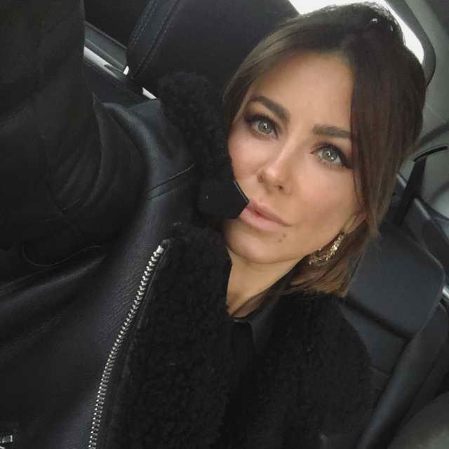 Ани Лорак в день первого суда о разводе
