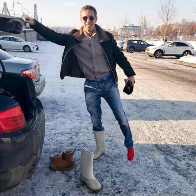 Алексей Панин в день ДТП
