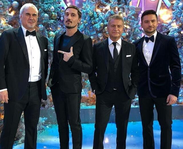 Меладзе, Билан, Агутин, Лазарев