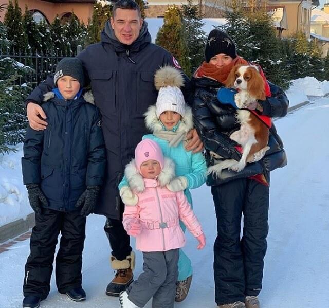 Ксения Бородина семья