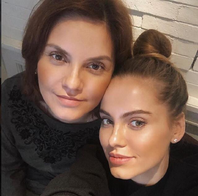 Дарья Клюкина мама