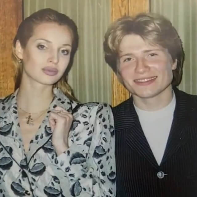 Анастасия Волочкова и Николай Басков, когда им было 19 лет