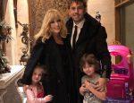 Пугачева и Галкин и их дети Гарри и Лиза