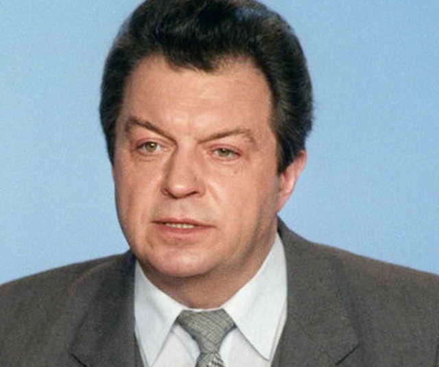 Евгений Суслов диктор Центрального телевидения СССР