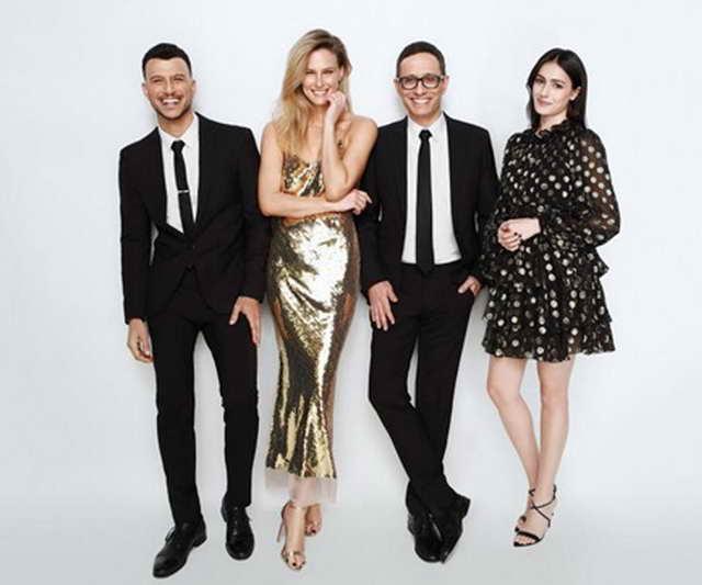 Ведущие Евровидения 2019 Асси Азар, Бар Рафаэли, Эрез Таль и Люси Айоуб