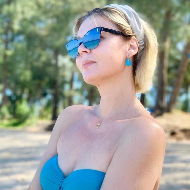 Юлия Меньшова на отдыхе в Тайланде