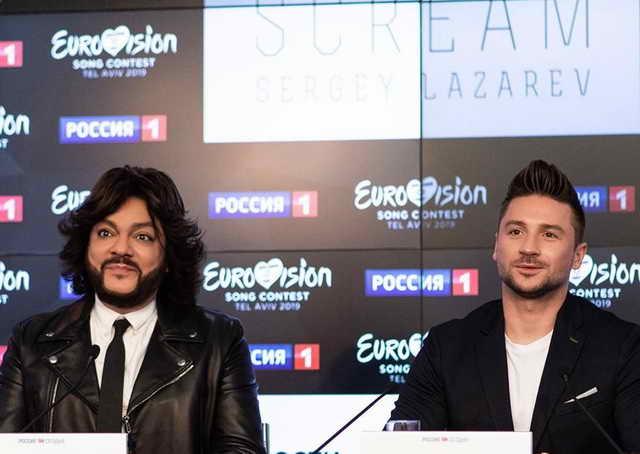 Киркоров и Лазарев пресс-конференция 22 апреля