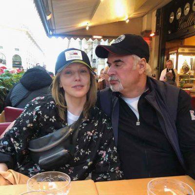 Валерий Меладзе и Альбина Джанабаева в Италии