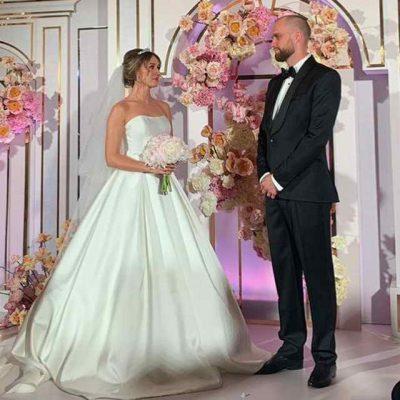 Мишель Серова и ее жених Роман