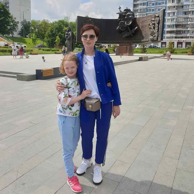 Елена Ксенофонтова и дочь София