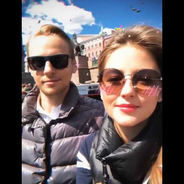 Анна Михайловская с новым бойфрендом