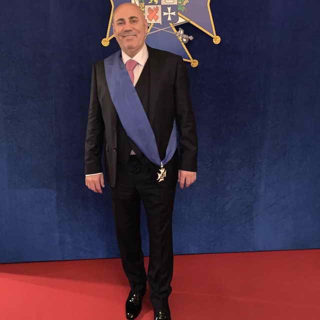 Иосиф Пригожин стал членом Общества Мушкетеров Арманьяка
