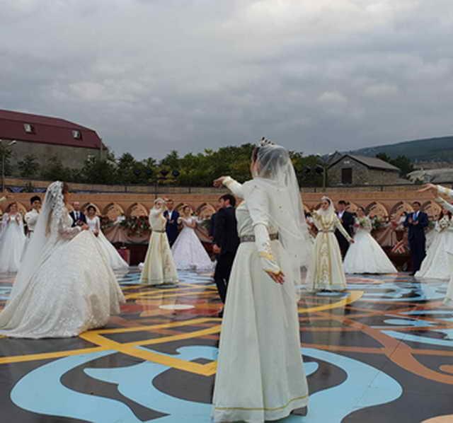 Массовая свадьба в Дагестане установила два мировых рекорда Книги Гиннеса