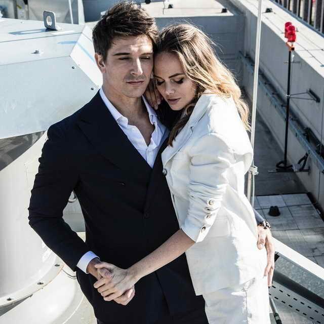 Счастливая пара актер Стас Бондаренко и Аурика Алехина