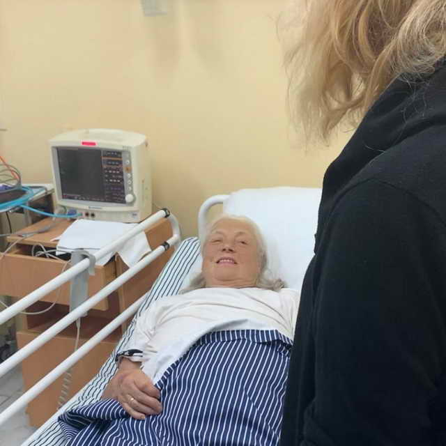 Народная артистка Лидия Федосеева-Шукшина в больнице