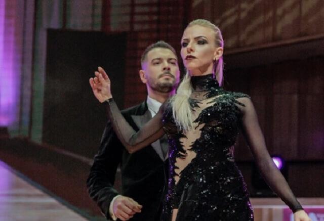Анна Гудына и Кирилл Паршаков