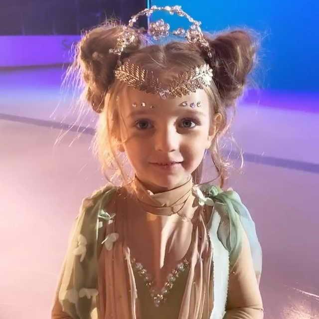 Надя Пескова 5 летняя дочь Татьяны Навка