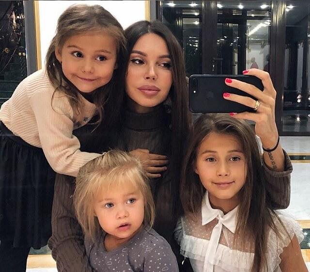 Оксана Самойлова дети