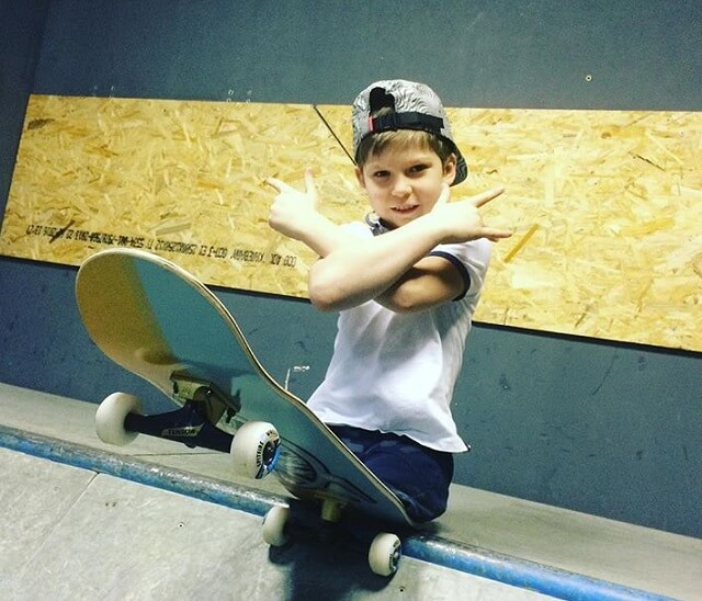 скейтер без ног Максим Абрамов
