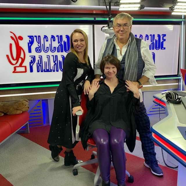 Садальский у Анны Довлатовой на Русском Радио