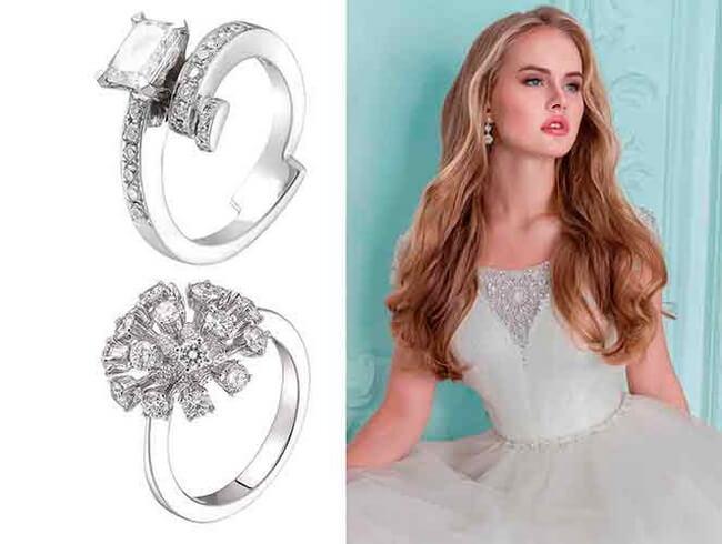 С чем носить Кольцо с бриллианты