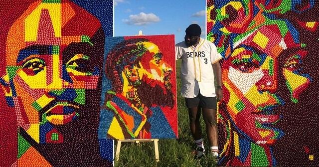 Skittles портрет искусство