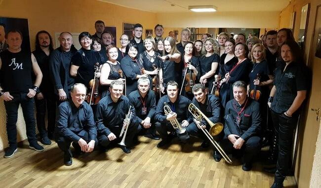 Группа «Кипелов» и симфонический оркестр